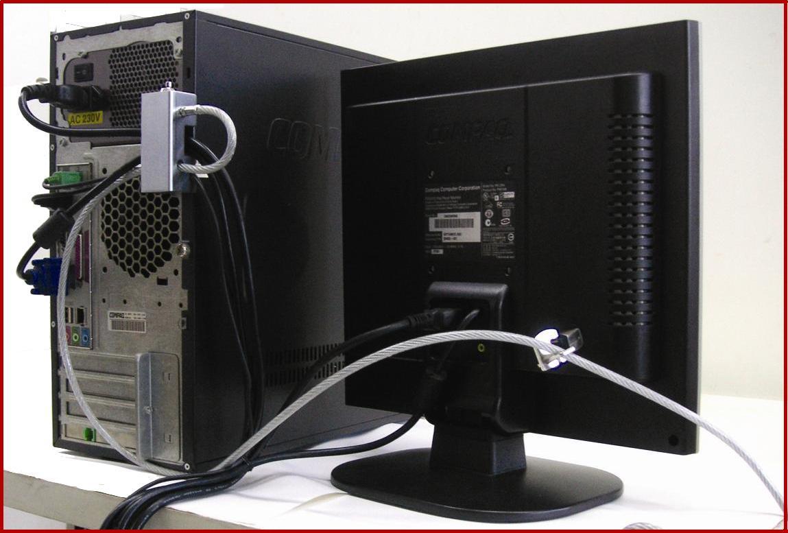Laptop Security Lock : Dataflex pc security lock